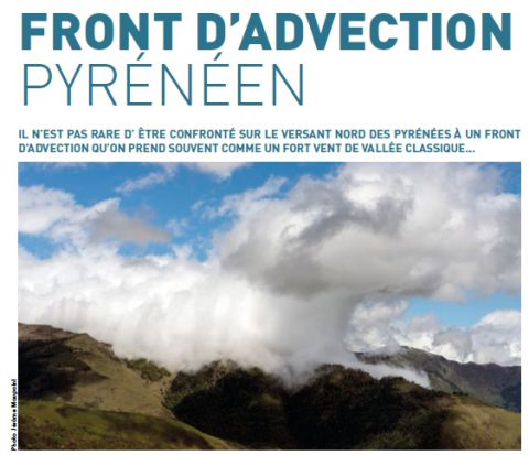 Front d'advection Pyrénéen Article