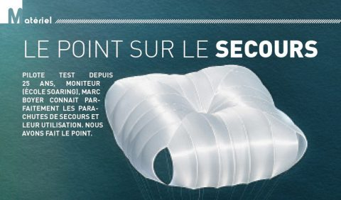 Le point sur le secours - article PMAG 147