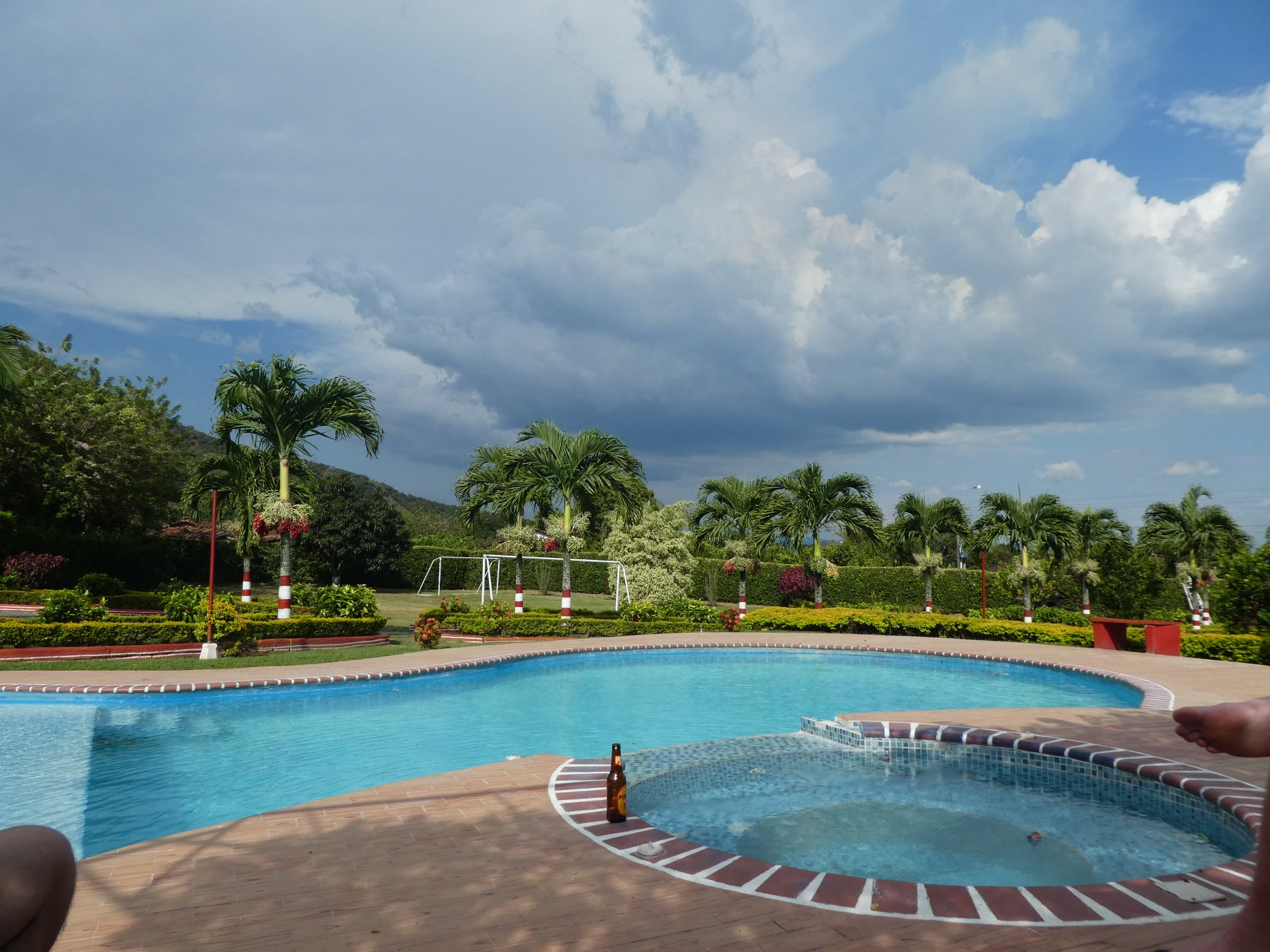 Stage Distance Colombie Piscine