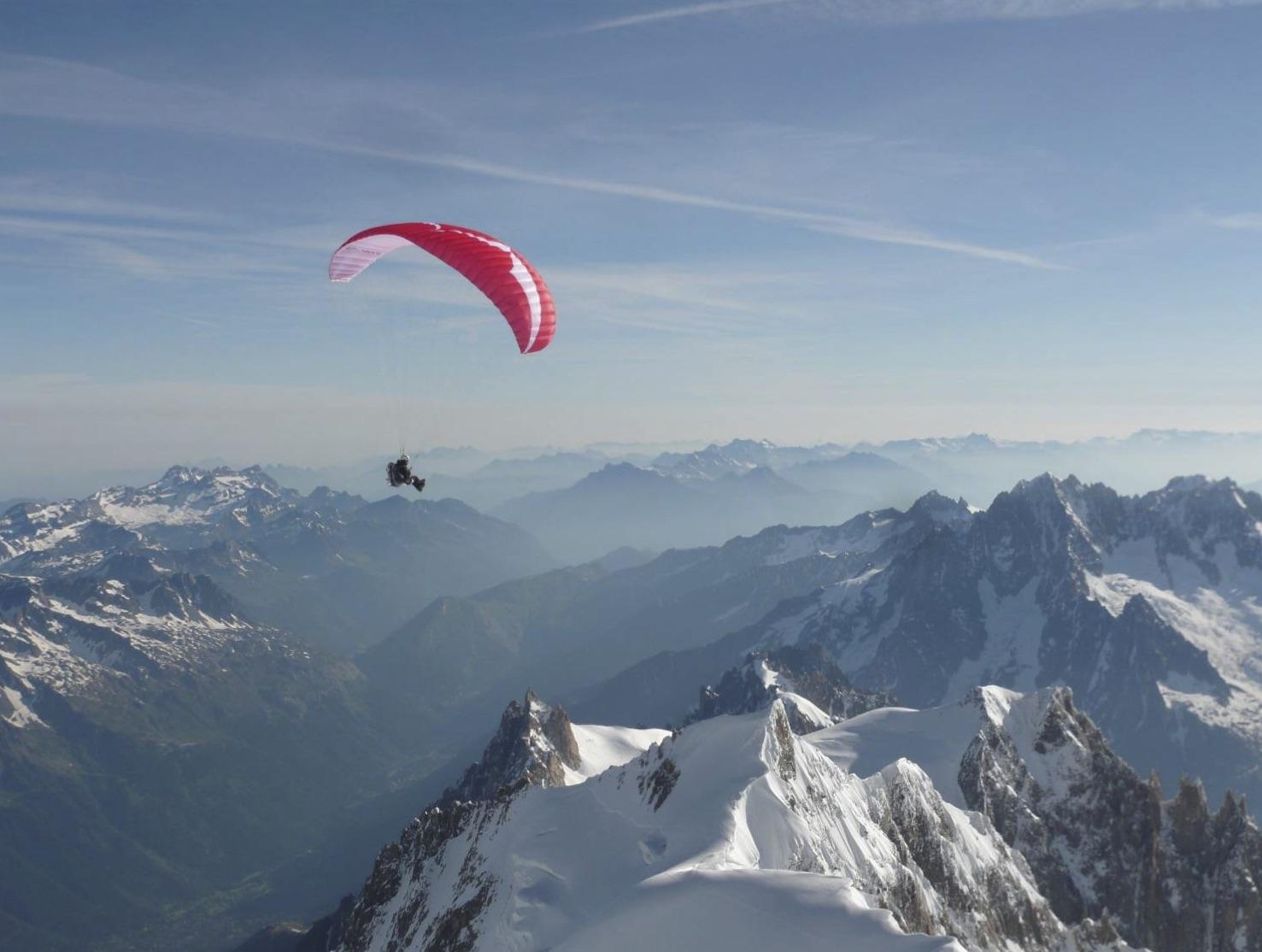 Vol du Mont Blanc