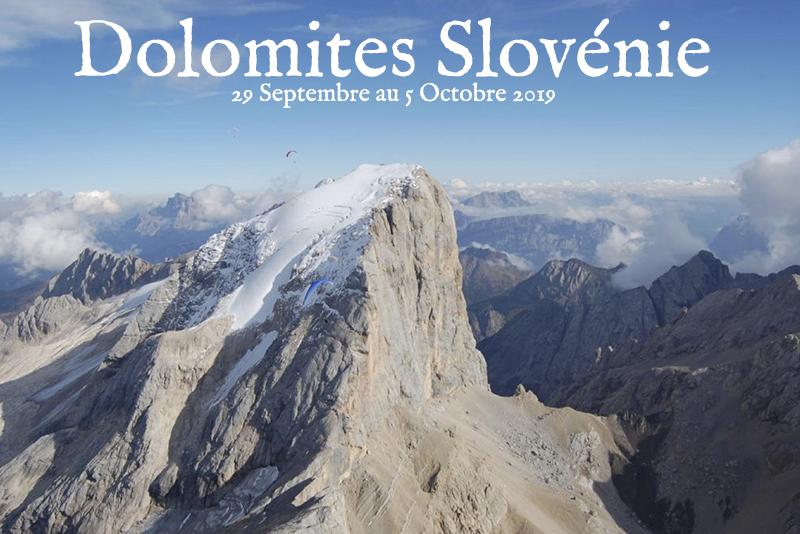 Stage DOLOMITES SLOVENIE 2019