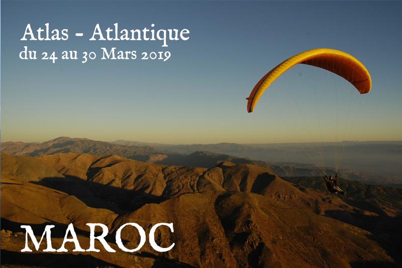 Stage MAROC ATLAS ATLANTIQUE 2019