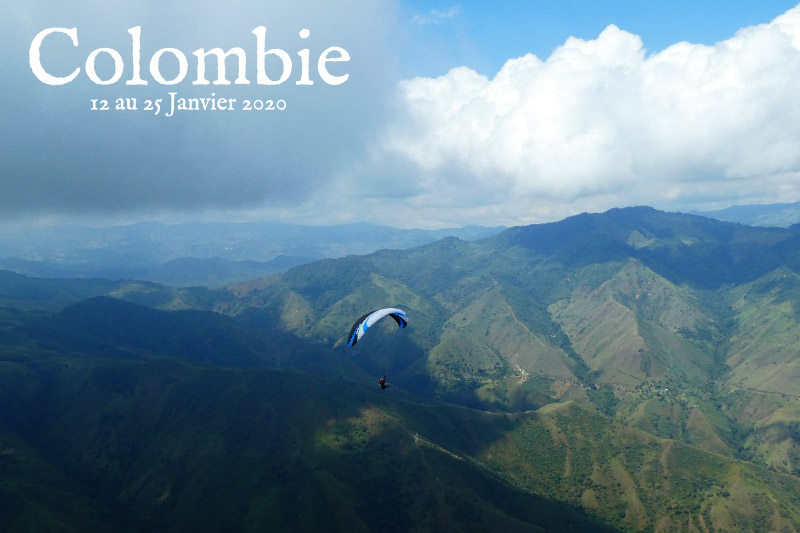 Distance Colombie 2020